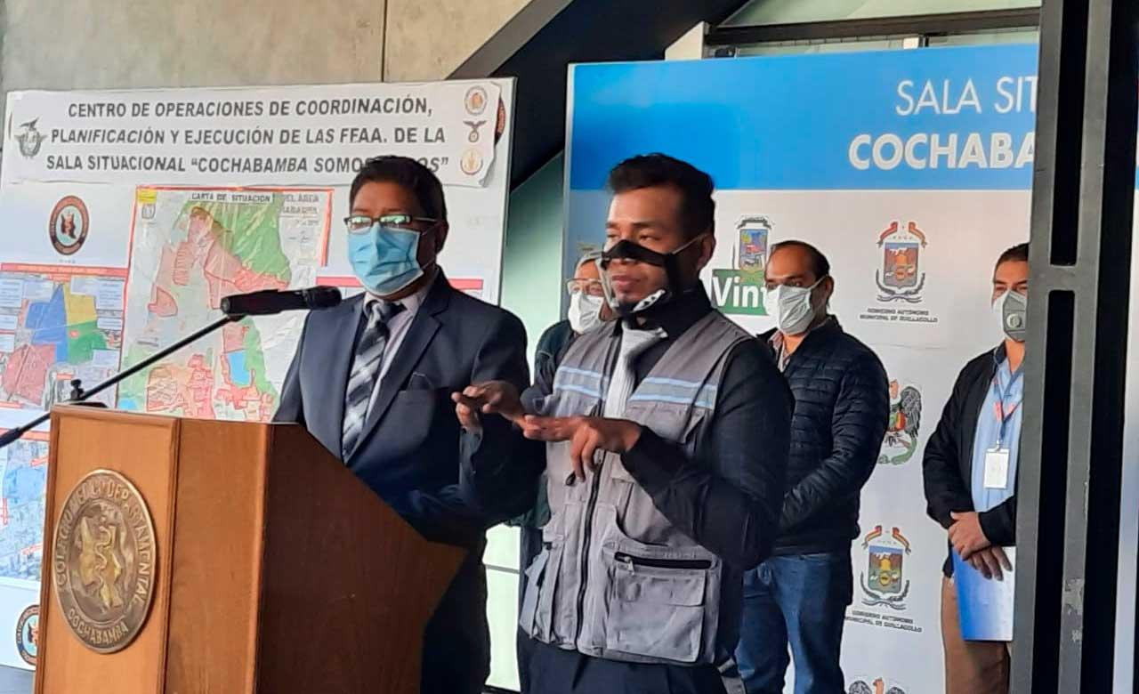 SEDES de Cochabamba pide a los bloqueadores que estén dispuestos a dialogar ante el desabastecimiento de oxígeno