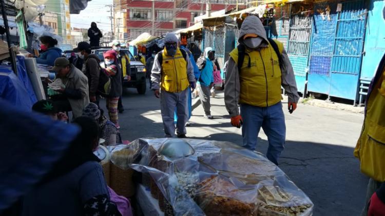 SIRMES de El Alto advierte que 5 pacientes fallecieron por falta de oxígeno