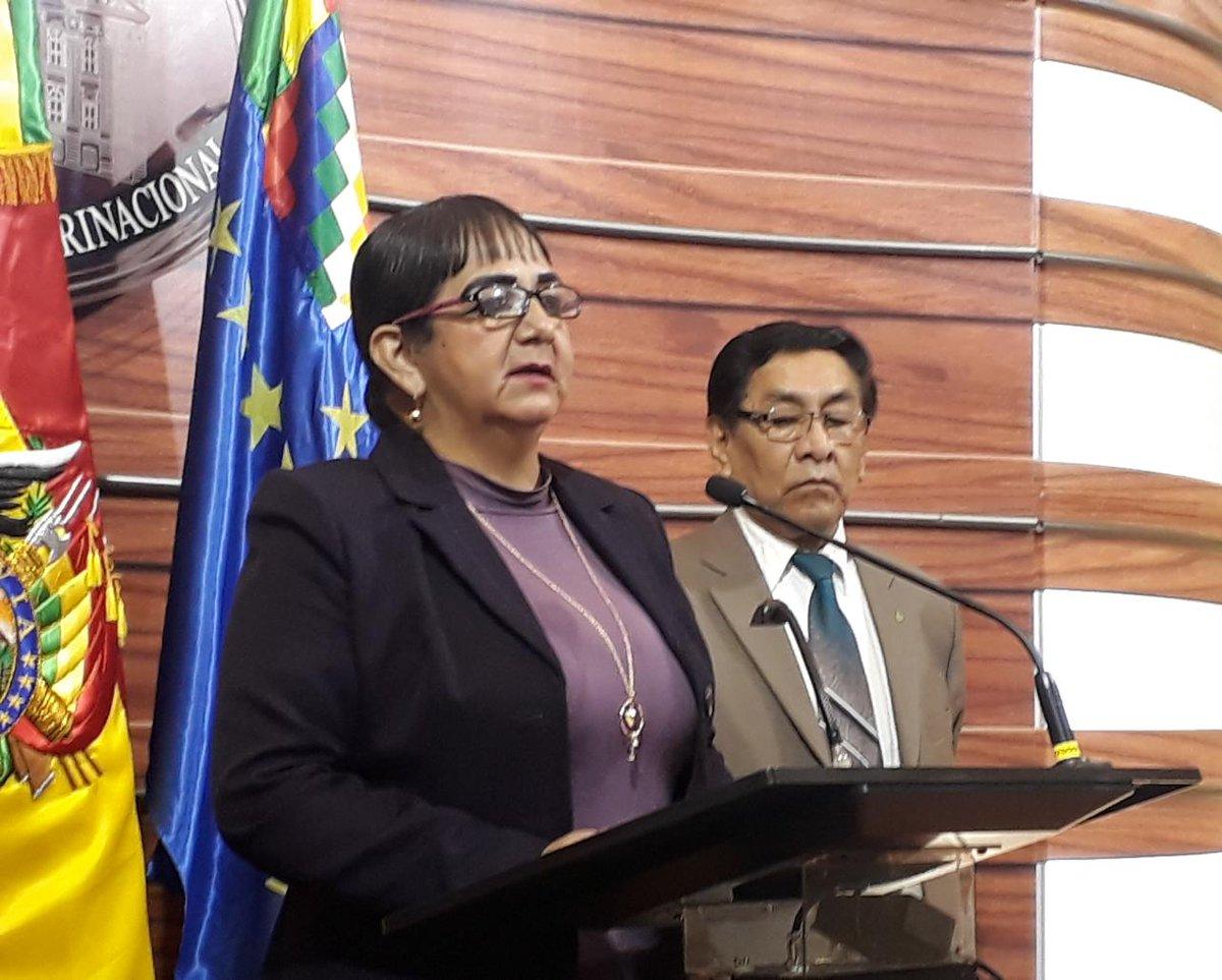 Senadora Gonzales pide a la Fiscalía General que investigue de oficio a Morales por el presunto delito de pedofilia
