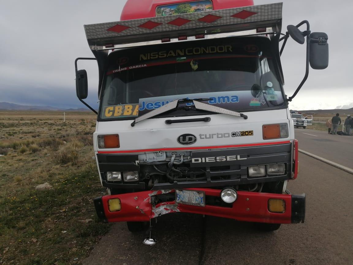 Dos accidentes de tránsito en la carretera La Paz – Oruro dejan dos fallecidos