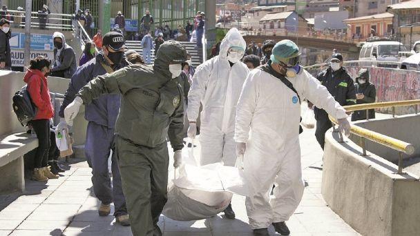 FELCC levanta cinco cadáveres con COVID-19 en un solo día