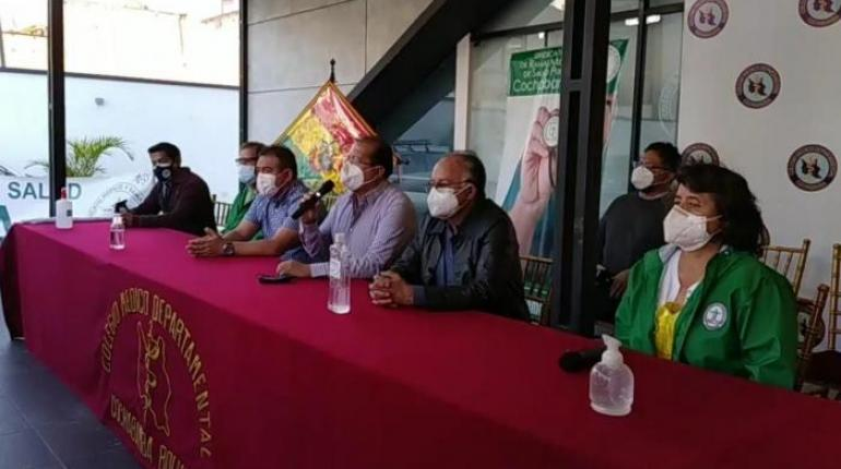 Médicos de Cochabamba ratifican su paro hasta que se pueda firmar un convenio con el Gobierno