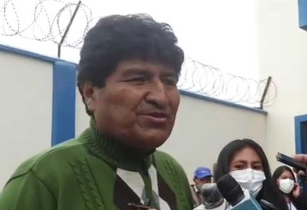 """Morales asevera que """"tarde o temprano"""" se sancionará a empresas encuestadoras por hacer """"daño a la democracia"""""""