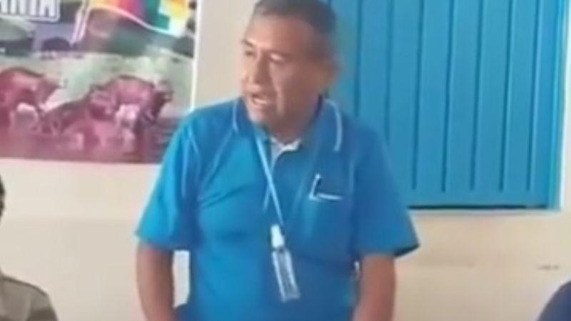 Viceministro Puma amenaza con sancionar a funcionarios que no hagan campaña por el MAS