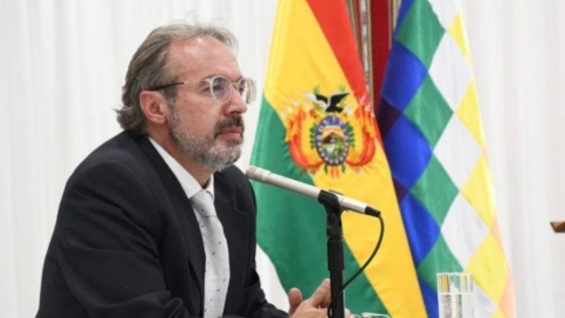 """Richter considera que no es momento de paros porque """"los bolivianos han cedido sus vacunas a médicos"""""""
