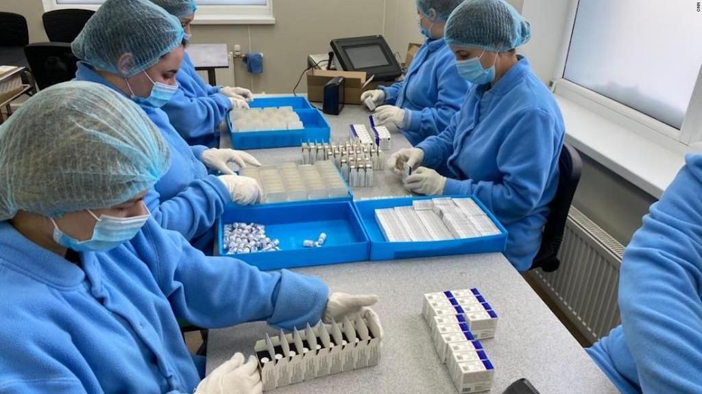 Nueva fábrica de vacunas Sputnik prevé producir hasta 10.000.000 de fármacos por mes