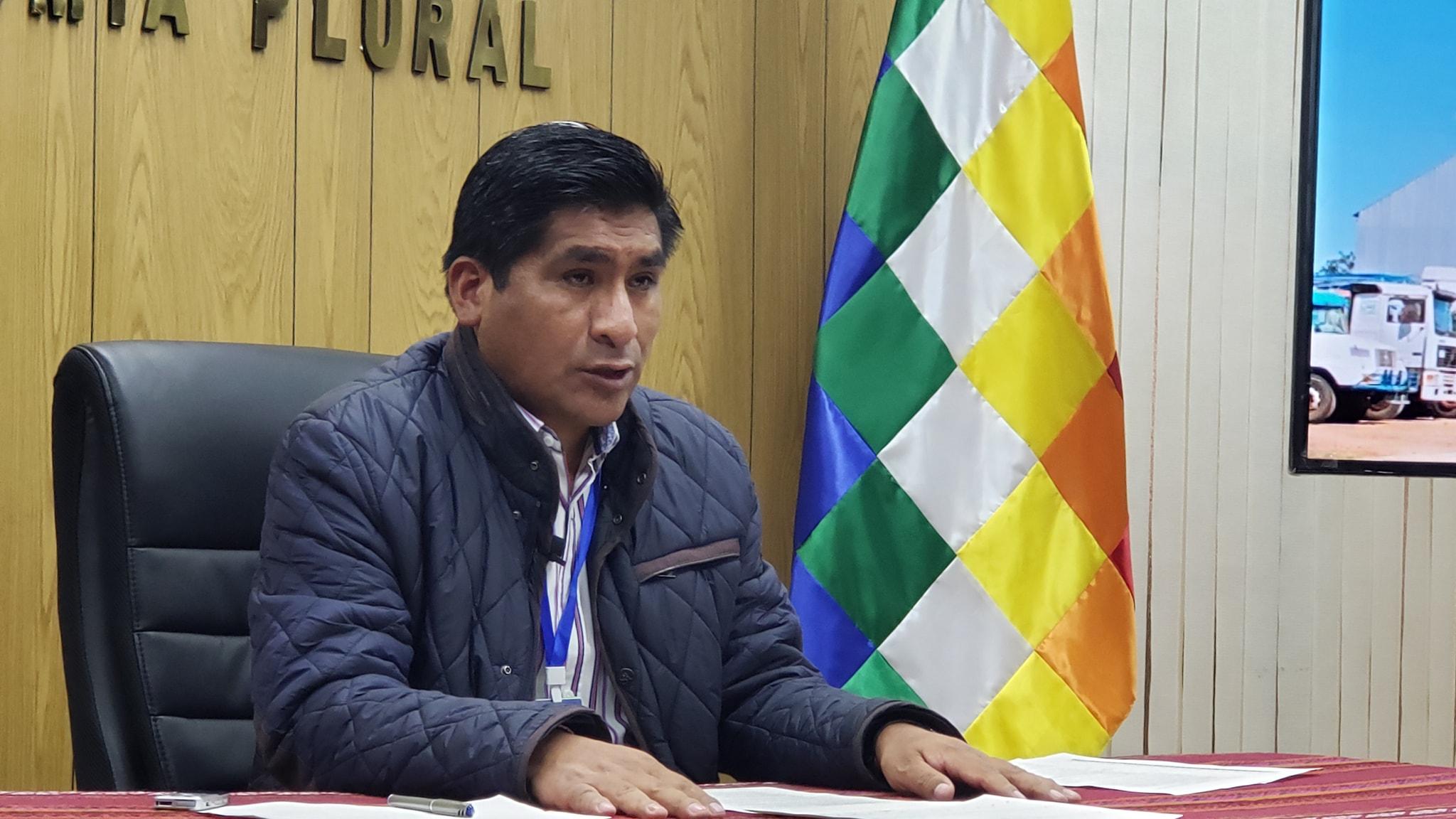 Ministro Huanca pide a los productores de soya reconsiderar sus movilizaciones