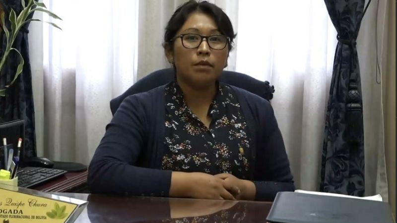 """Comisión de diputados asegura que Añez goza de """"cierto privilegio"""" en la cárcel"""