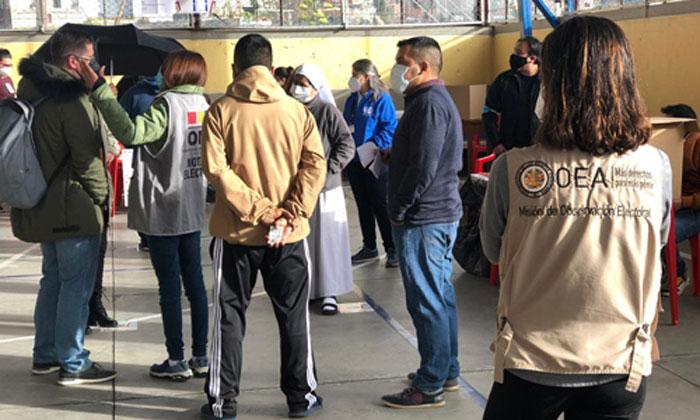 OEA recomienda revisar las normas sobre pedidos de inhabilitación de candidatos