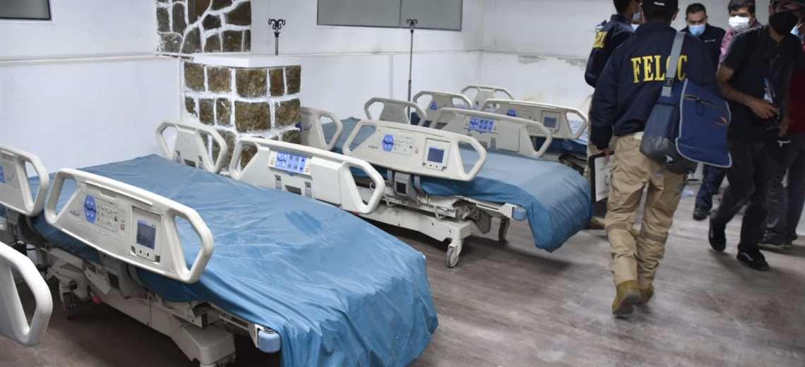 Intervienen una clínica ilegal en La Paz que atendía pacientes con COVID-19