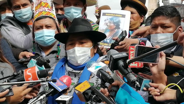 Organizaciones afines al MAS piden que Camacho y Arias respondan por el caso del golpe de Estado