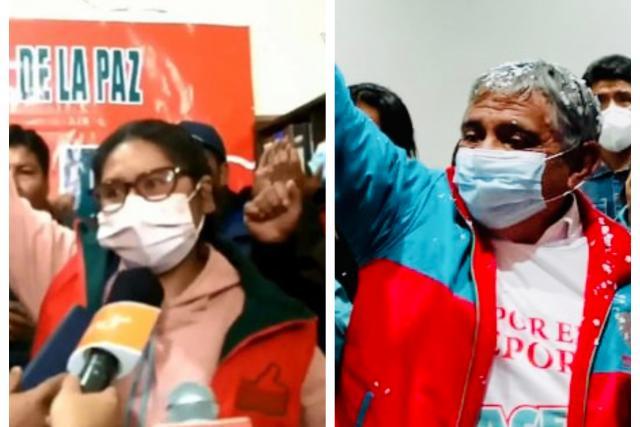 TED anuncia que Eva Copa e Iván Arias fueron elegidos como alcaldes de El Alto y La Paz