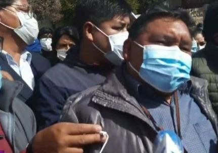 Gran Cuartel de El Alto anuncia movilizaciones para pedir justicia por las víctimas de Senkata e impedir la llegada de Camacho a La Paz