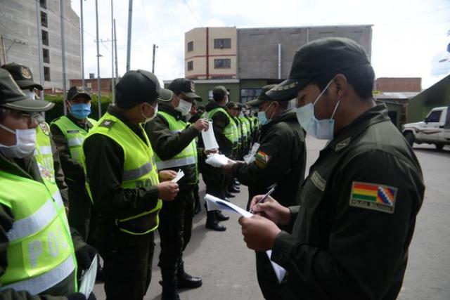 Policías de base se declaran en emergencia y advierten que no permitirán abusos de poder
