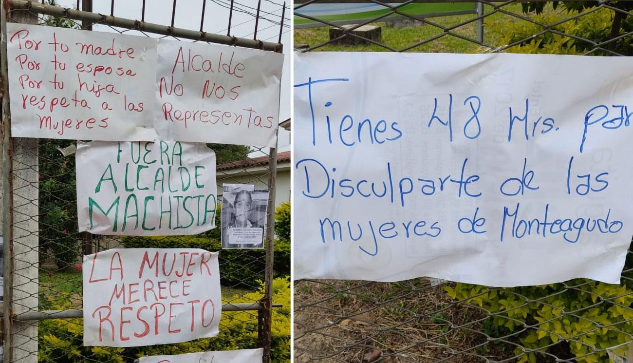 Mujeres dan 48 horas al Alcalde de Monteagudo para que se disculpe por sus declaraciones machistas