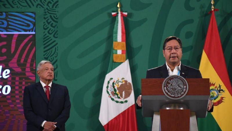"""Arce en una conferencia en México aseveró que el """"golpe de Estado"""" hizo fracasar la explotación del litio"""