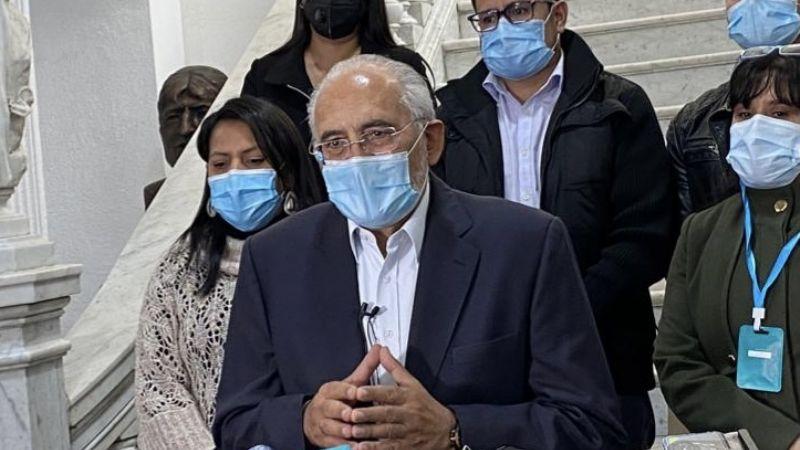 Mesa: El golpe de Estado supondría juicio a Arce por acatar una decisión de facto