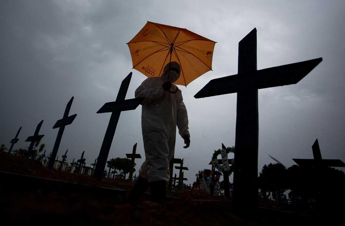 Brasil enfrenta la fase más mortífera del COVID-19