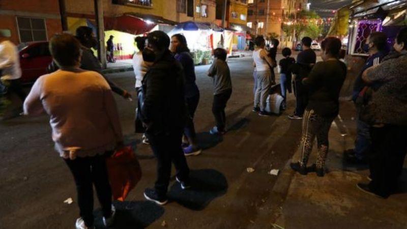 Sismo de magnitud 5,7 se percibe en centro de México