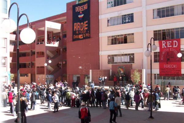 COR de El Alto exige auditoria a los centros de estudiantes y a la FUL de la UPEA