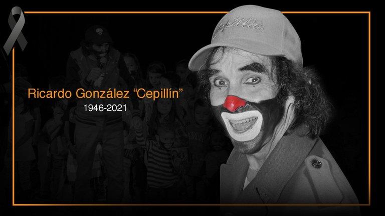"""Fallece el reconocido payaso mexicano Ricardo González """"Cepillín"""" a los 75 años de edad"""
