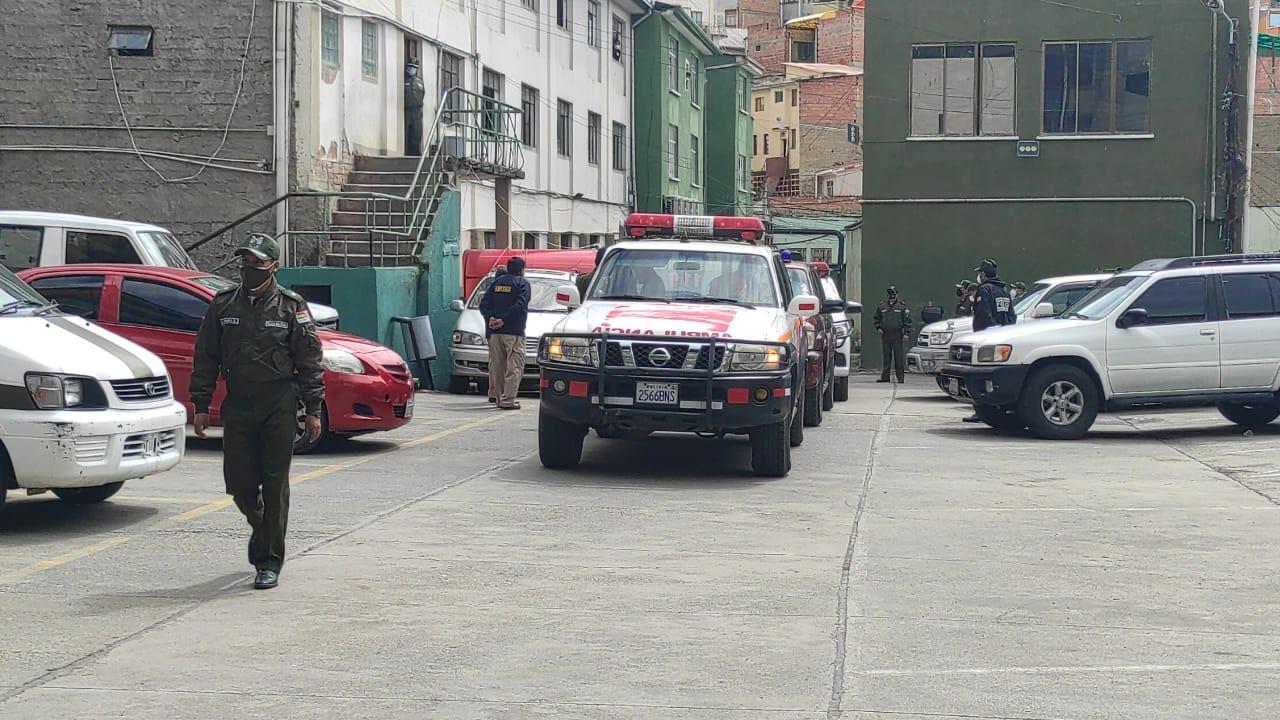 Jeanine Añez es trasladada a la cárcel de Obrajes