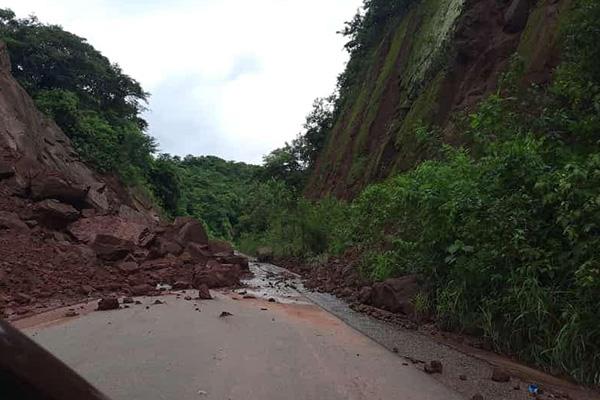 Lluvias dejan en mal estado la carretera al Chaco