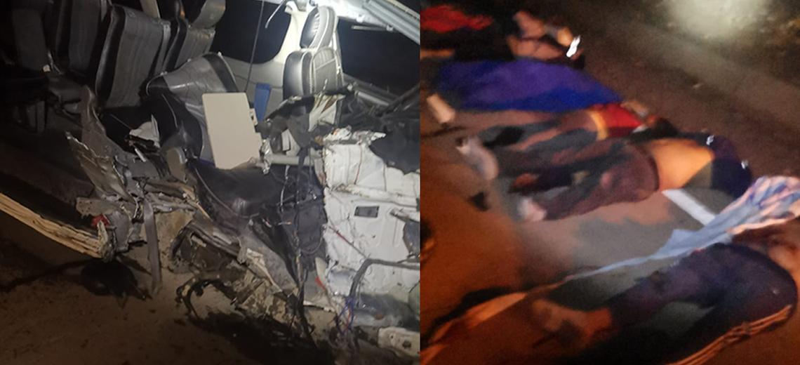 Reportan seis fallecidos y alrededor de siete heridos tras accidente en la carretera Oruro – Pisiga
