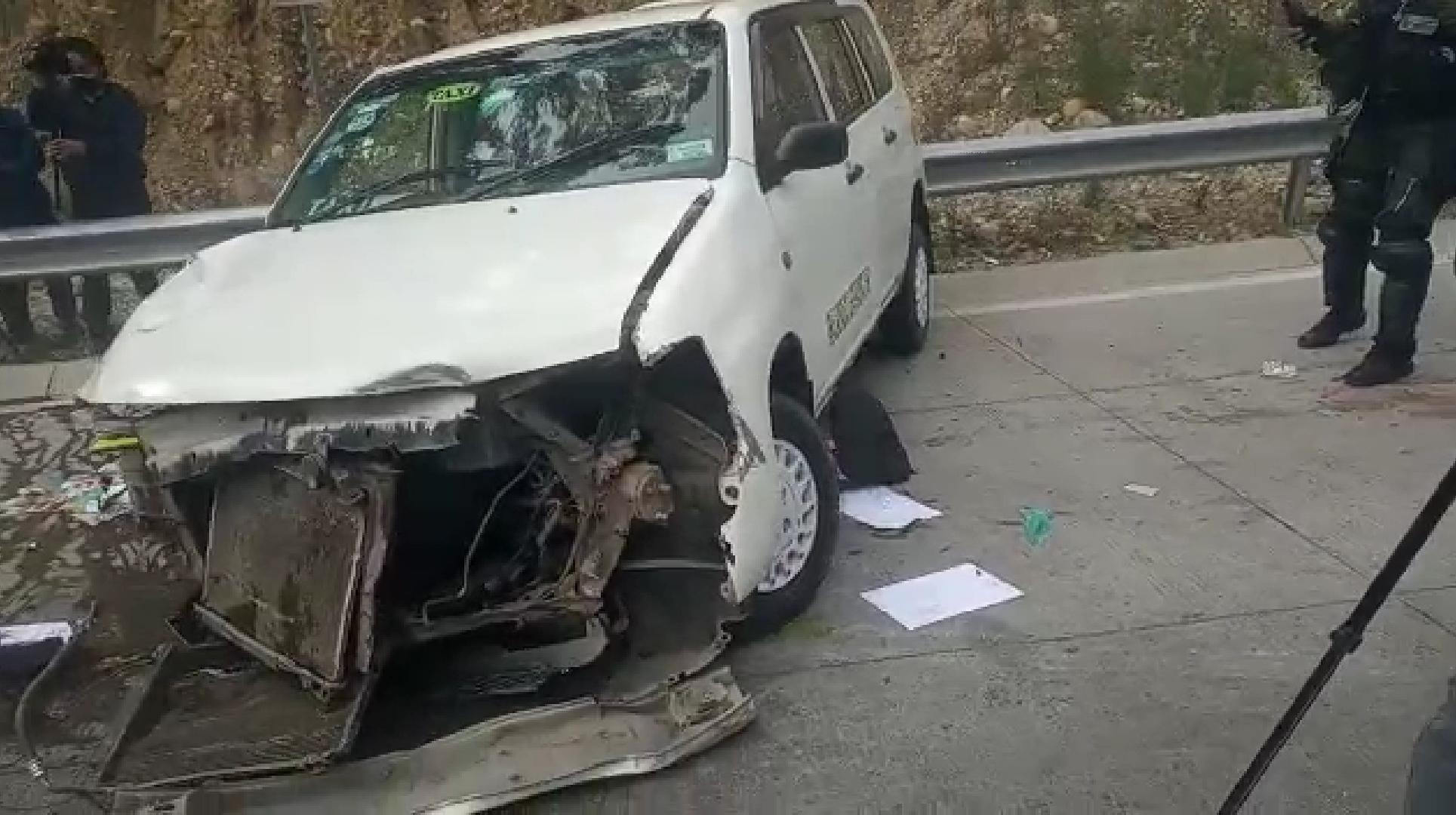 Chófer pierde el brazo por una colisión en la Autopista