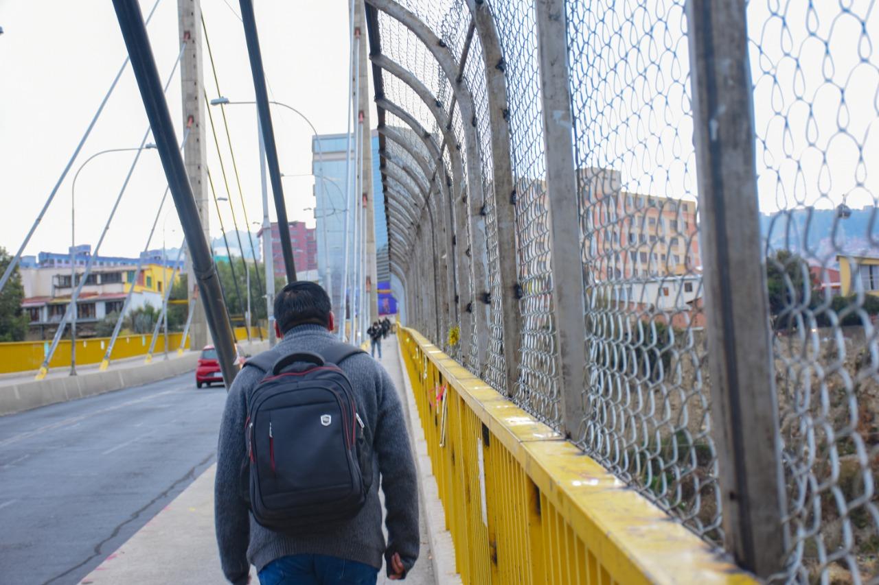 FELCC reporta dos intentos de suicidio en el puente Las Américas durante las últimas 24 horas