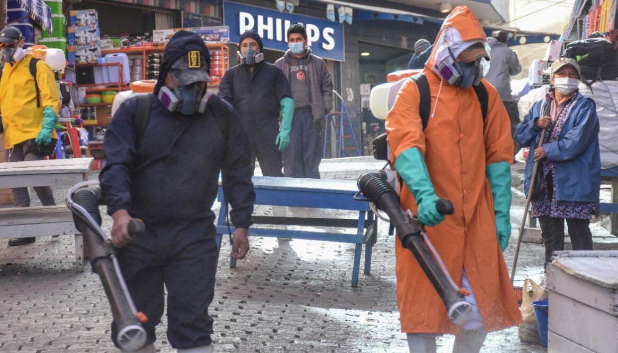 Municipio de La Paz prevé que el pico de contagios será entre la primera y segunda semana de julio