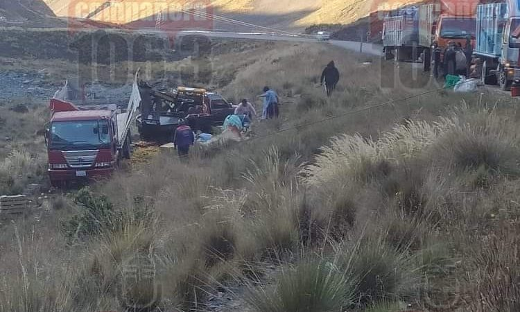 Embarrancamiento en la carretera La Paz – Yungas deja seis heridos