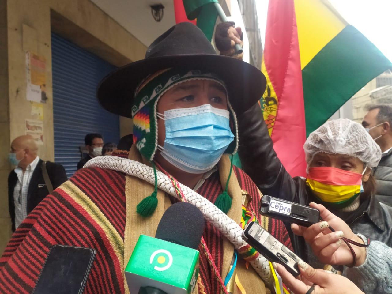 Nelson Condori denuncia que el MAS intenta involucrarlo en el caso de la muerte del periodista Sebastián Moro