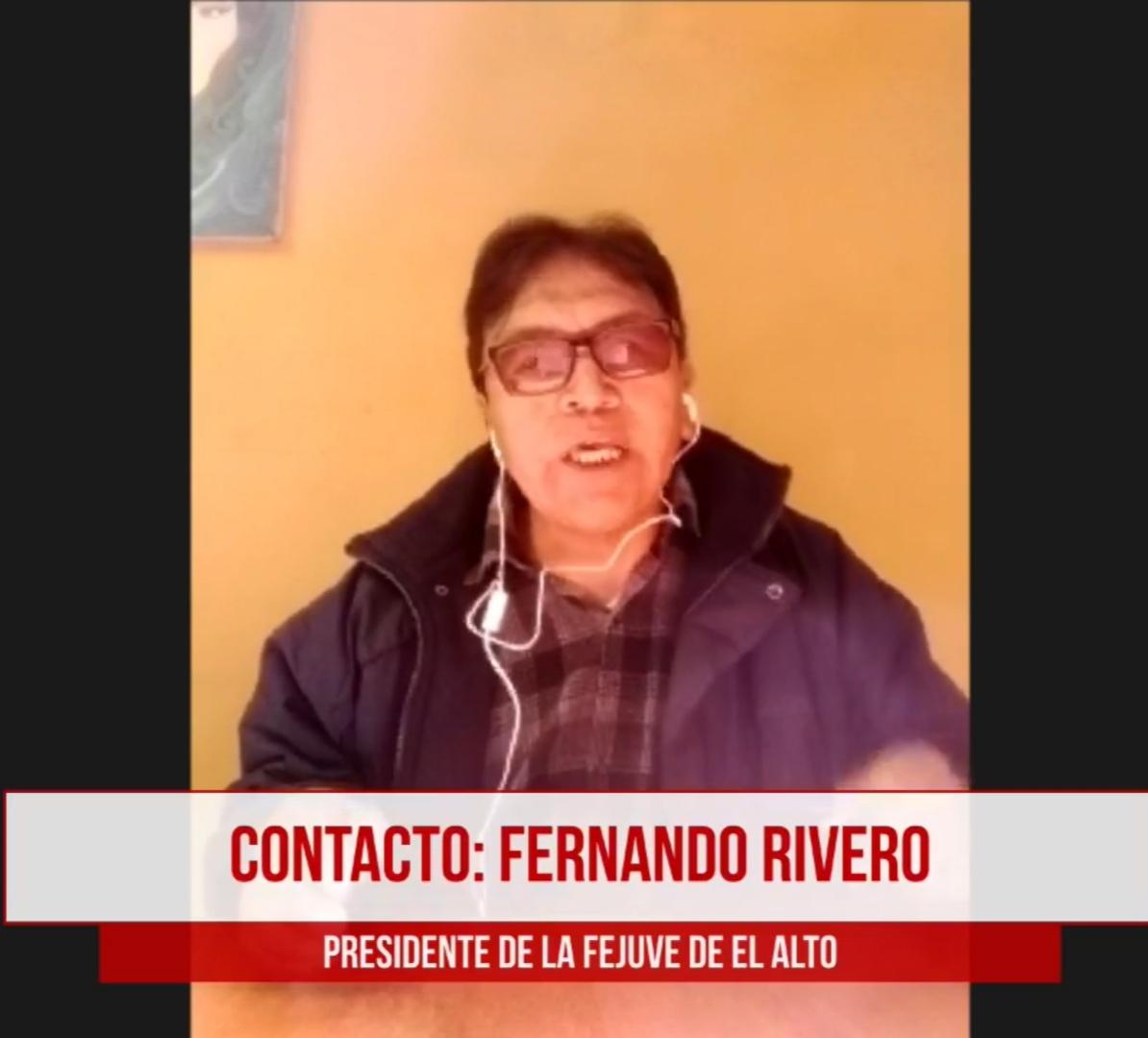 FEJUVE asevera que en El Alto bajará el apoyo para el MAS por las declaraciones de Morales