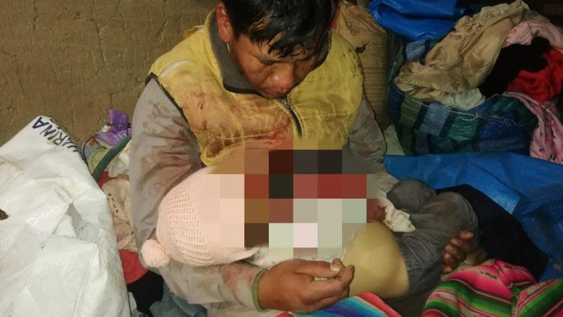 Aprehenden a sujeto que mató a su hija de 1 año de edad en San Pedro de Tiquina