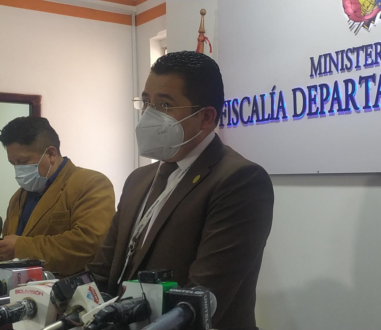 Imputan a sujeto que mató a su bebé en Tiquina y piden su detención preventiva