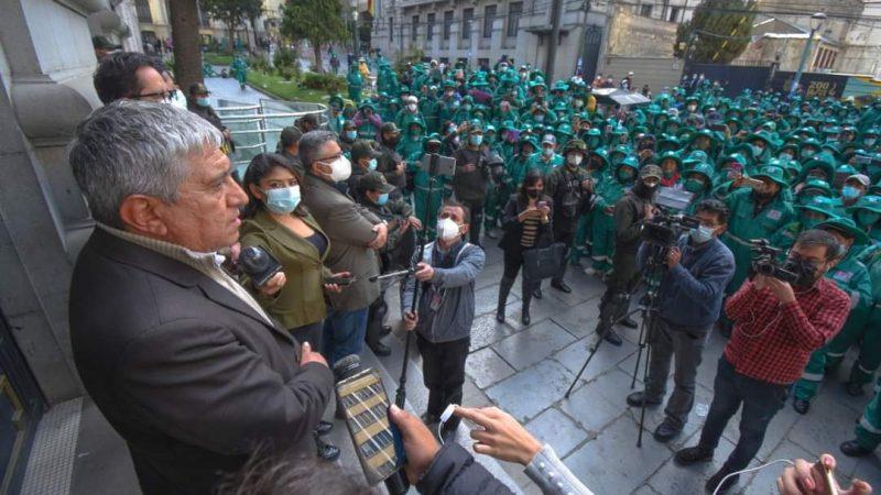 «La Paz Limpia» ya puede pagar sueldos adeudados a sus trabajadores
