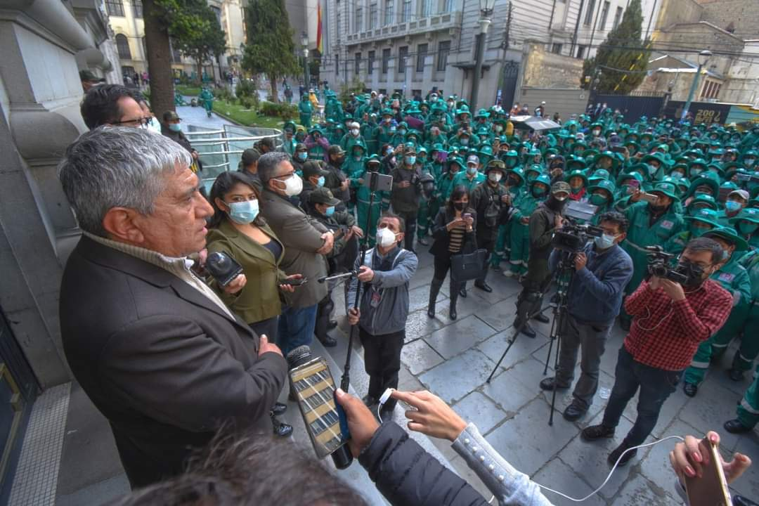 """""""La Paz Limpia"""" ya puede pagar sueldos adeudados a sus trabajadores"""