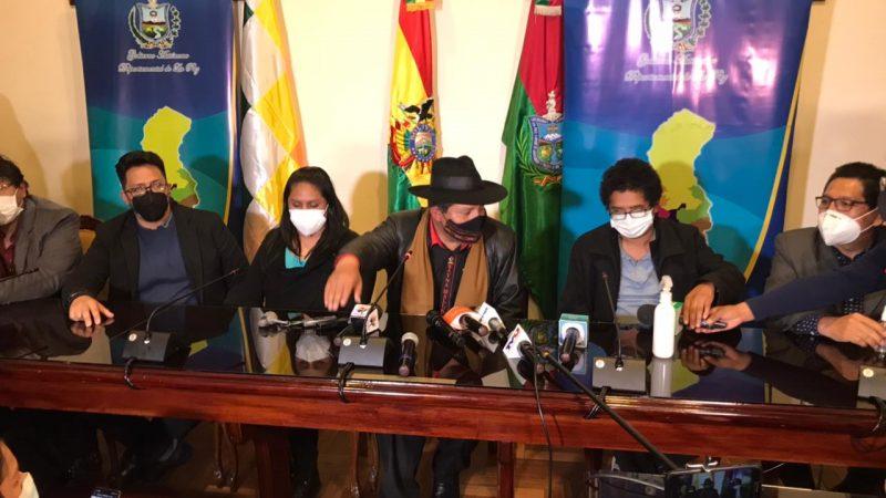 Gobernación paceña crea Comité científico para enfrentar la Covid-19