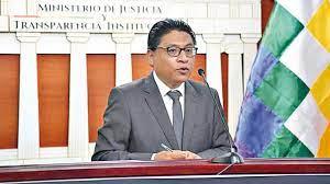 """Ministro de Justicia: """"Si la CIDH dice que no es un derecho humano la reelección, el TSE deberá interpretar cómo se aplica en Bolivia"""""""