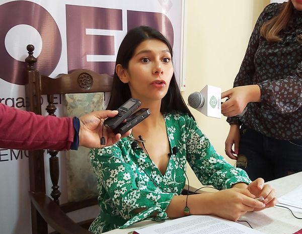 Exvocal de Tarija denuncia que fue destituida irregularmente por Arce