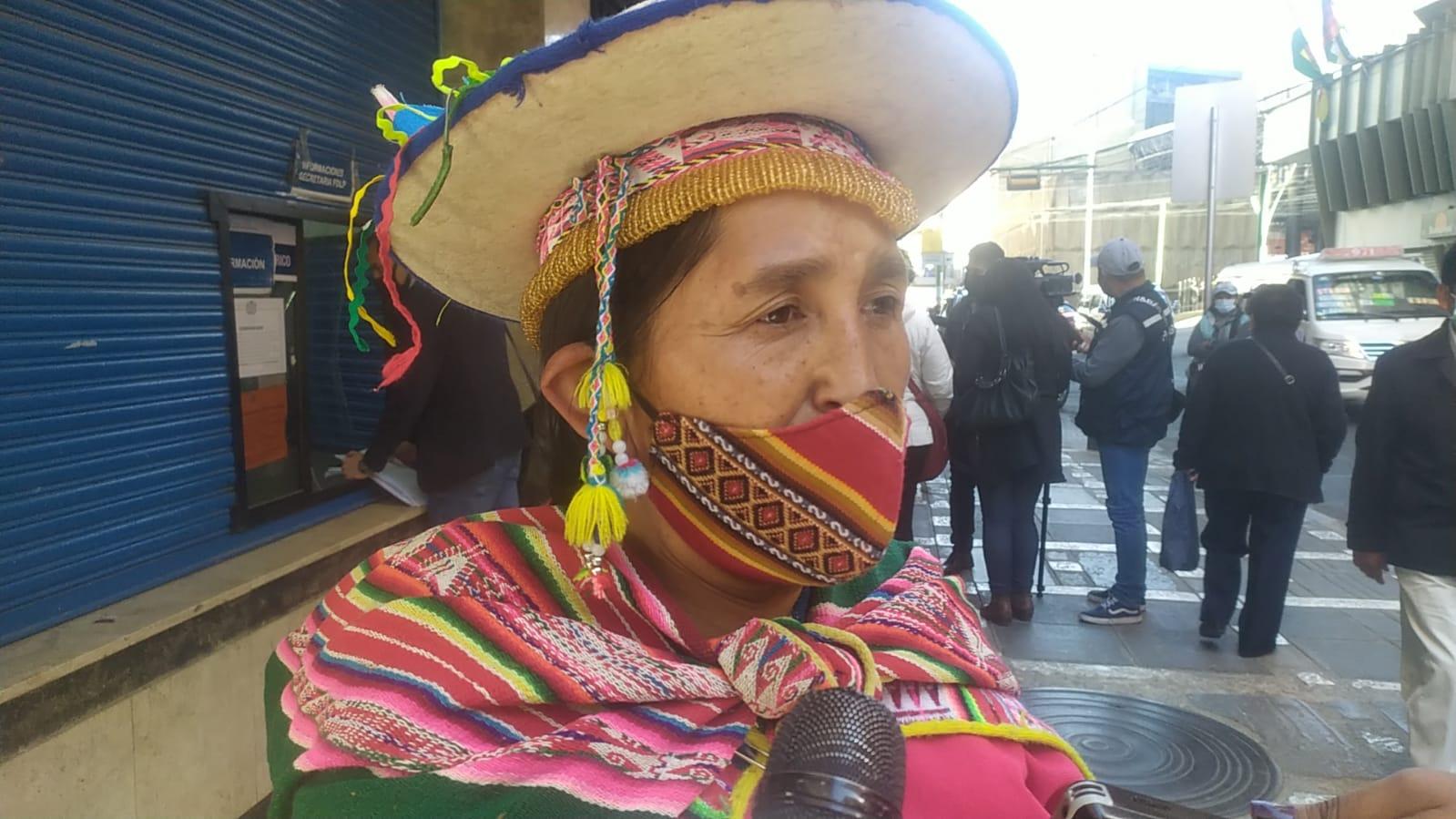 Lidia Patty pide que Morales sea convocado a declarar por el caso del supuesto golpe de Estado