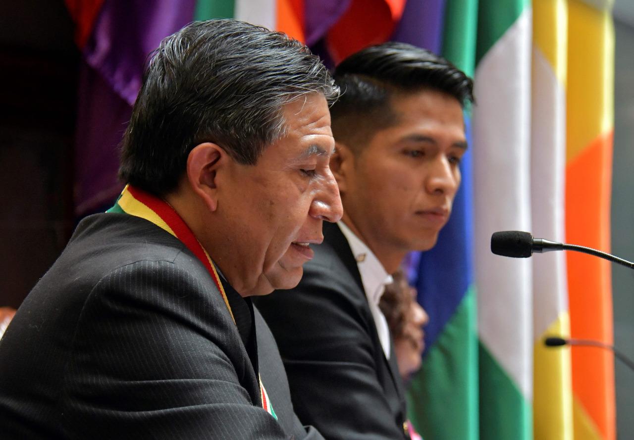 """Choquehuanca pide no usar """"bloque"""" en su partido porque """"suena a división"""""""