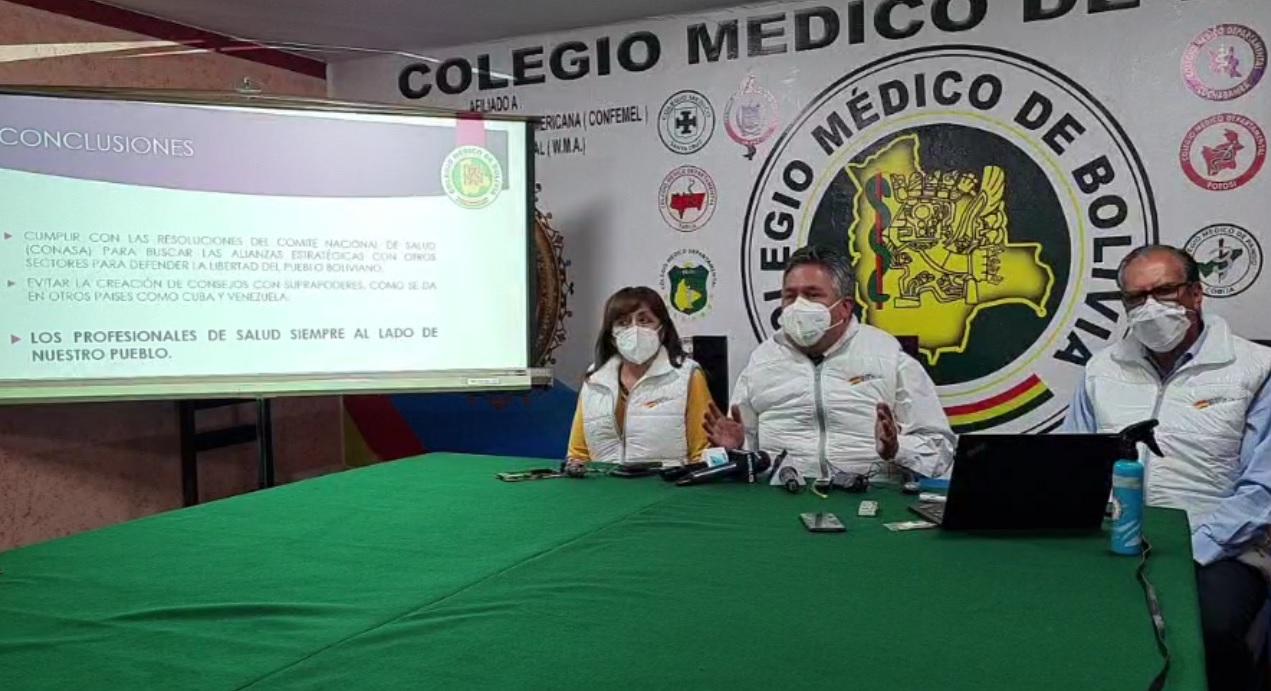 Médicos piden diálogo con el Gobierno sobre la Ley de Emergencia Sanitaria y advierten con desacato