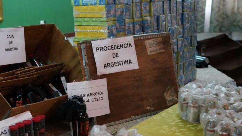 """Ministro argentino confirma que hubo un """"contrabando agravado"""" del armamento enviado a Bolivia"""