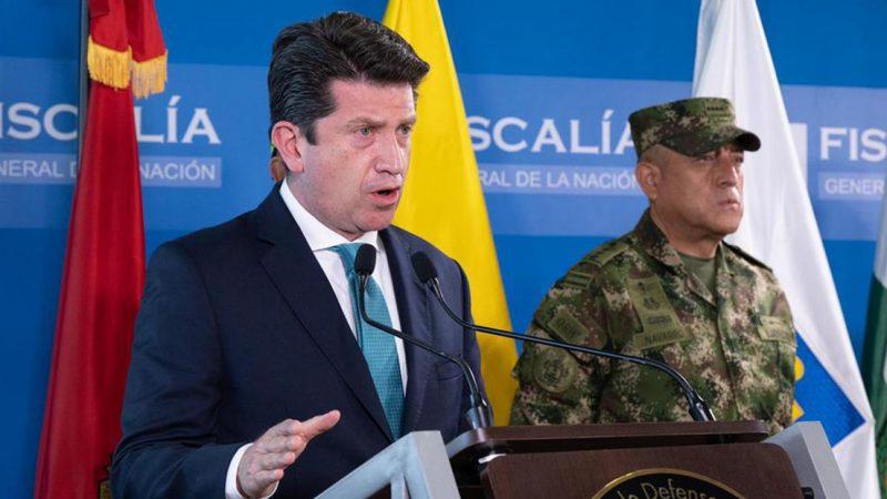 Ministro colombiano acusa a Venezuela de haber organizado el atentado contra Iván Duque