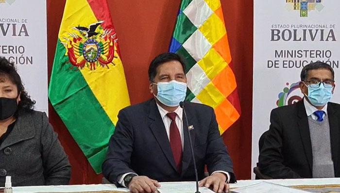 Ministro Quelca asevera que la denuncia en su contra intenta desvirtuar su gestión