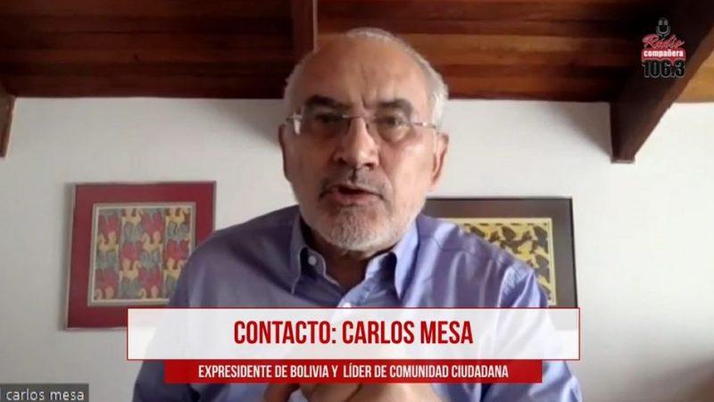 Mesa anuncia que CC presentará un recurso judicial en rechazo al cierre del caso fraude electoral