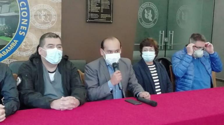 Colegio Médico de Cochabamba confirma el primer caso de hongo negro
