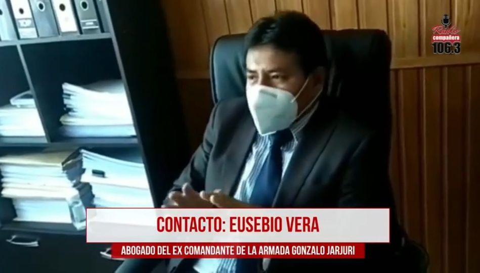 Abogado de Jarjuri aclara que el exministro Zavaleta estuvo al mando de las FF.AA. hasta el 11 de noviembre de 2019